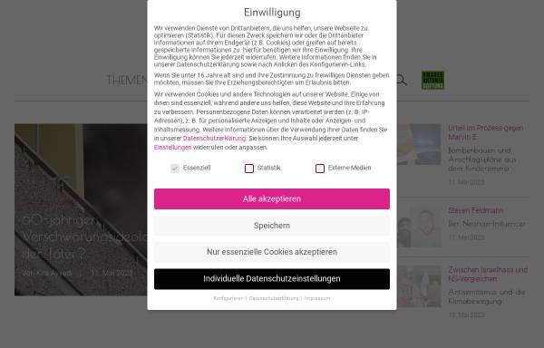 Vorschau von www.netz-gegen-nazis.de, Netz gegen Nazis