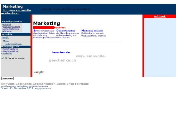 Vorschau von www.swiss-marketing.com, Swiss Marketing
