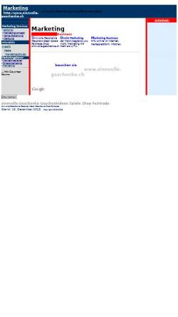 Vorschau der mobilen Webseite www.swiss-marketing.com, Swiss Marketing