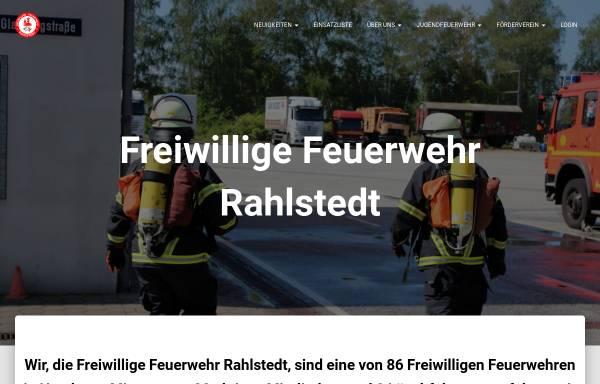 Vorschau von www.ff-rahlstedt.de, Freiwillige Feuerwehr Rahlstedt