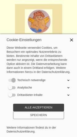 Vorschau der mobilen Webseite www.helaria.de, Nicole Maria Hermann