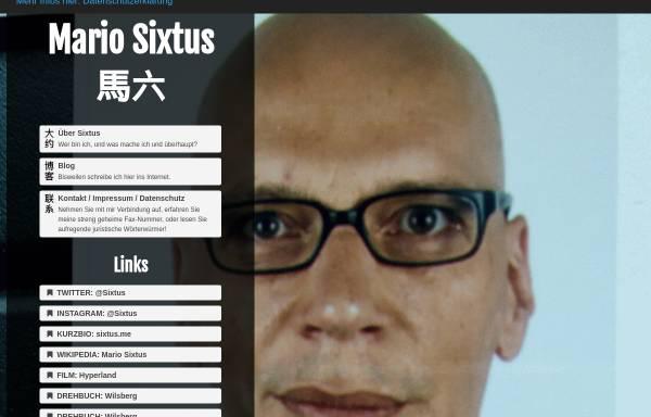 Vorschau von sixtus.net, Sixtus, Mario