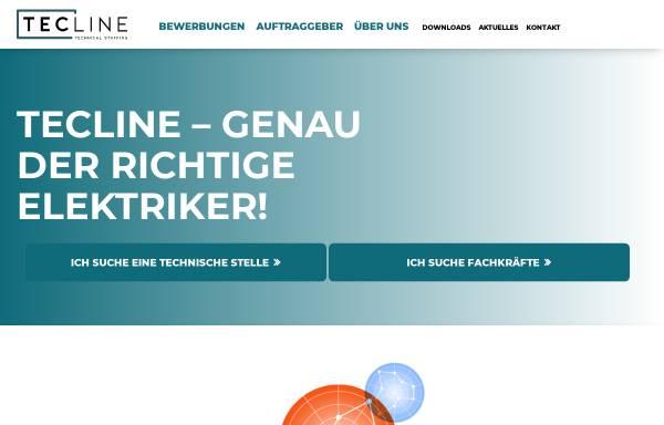 Vorschau von www.tecline.de, TecLine