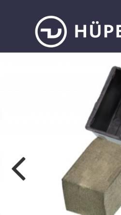 Vorschau der mobilen Webseite www.huepenbecker-design.de, Daniel Hüpenbecker