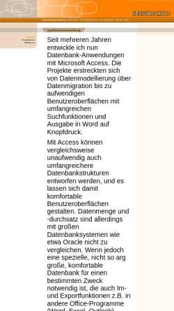 Vorschau der mobilen Webseite www.designschulz.de, Helga Piefke-Schulz