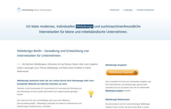 Vorschau von www.renehornig.com, René Hornig
