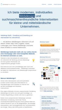 Vorschau der mobilen Webseite www.renehornig.com, René Hornig