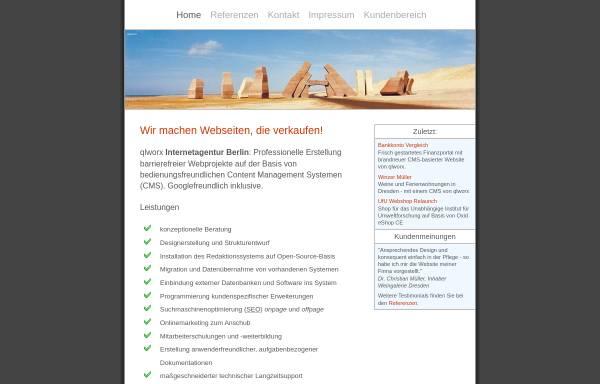 Vorschau von www.qlworx.de, Uwe Kuhl