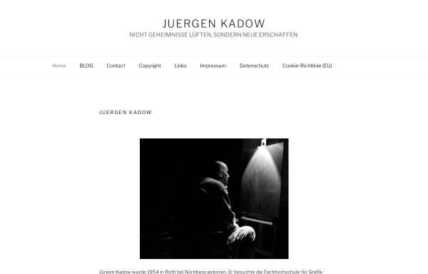 Vorschau von www.kadow.de, Kadow, Jürgen