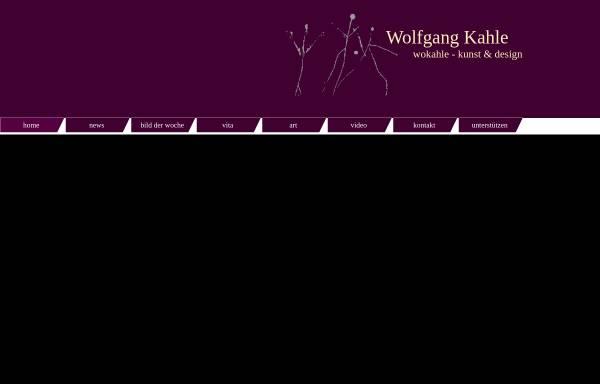 Vorschau von www.wokahle.de, Kahle, Wolfgang