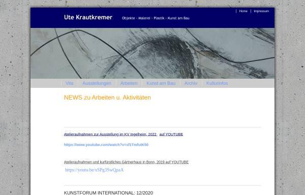 Vorschau von www.krautkremer-art.de, Krautkremer, Ute