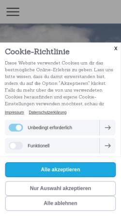 Vorschau der mobilen Webseite www.connosco.de, Connosco e.V.