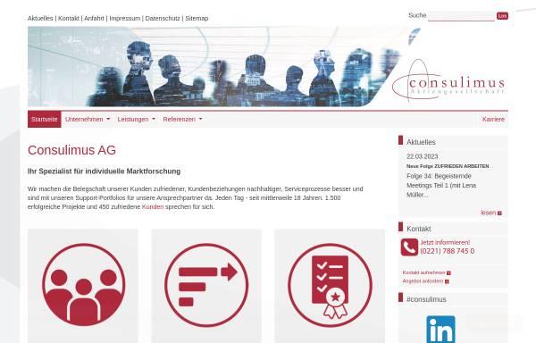 Vorschau von www.consulimus.de, Consulimus AG
