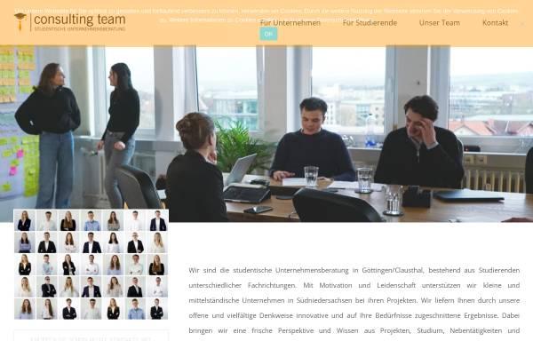 Vorschau von www.consulting-team.eu, Consulting Team e.V.