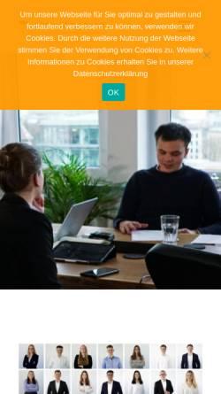 Vorschau der mobilen Webseite www.consulting-team.eu, Consulting Team e.V.