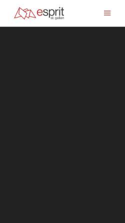 Vorschau der mobilen Webseite www.espritsg.ch, Esprit St. Gallen