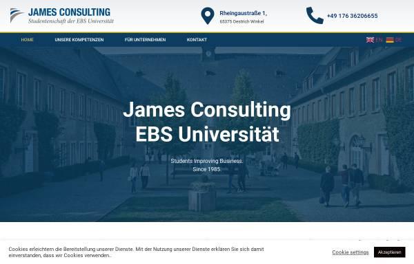 Vorschau von jamesconsulting.ebs-ressort.de, James Consulting GmbH