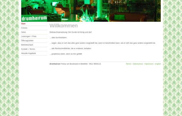 Vorschau von www.drumhairum.de, drumhairum UG