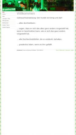 Vorschau der mobilen Webseite www.drumhairum.de, drumhairum UG