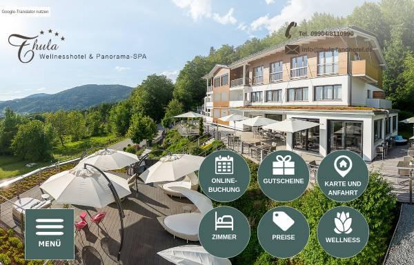 Vorschau von www.thula-landhotel.de, Thula Wellness-Hotel Bayerischer Wald