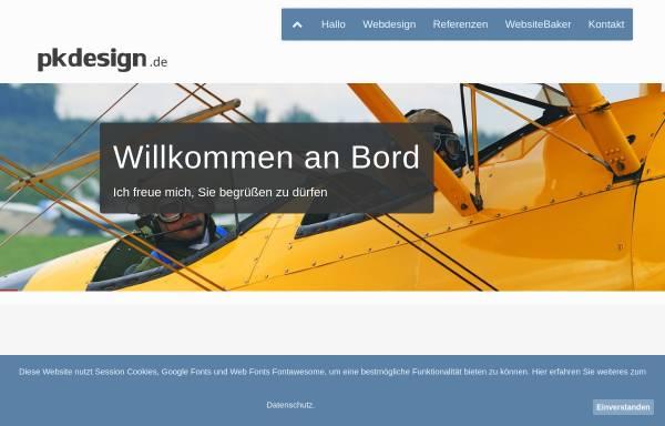 Vorschau von pkdesign.de, PKDesign