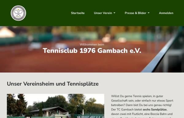 Vorschau von www.tcgambach.de, TC 1976 Gambach e.V.