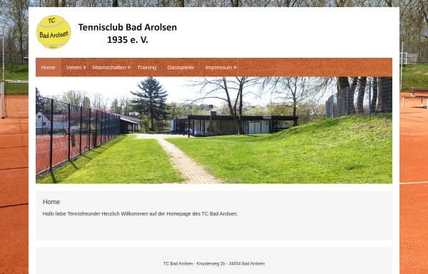 Vorschau von www.tc-bad-arolsen.de, TC Bad Arolsen