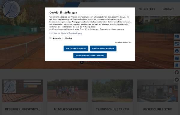 Vorschau von www.tc-blauweiss-petersberg.de, TC Blau-Weiß Petersberg e.V. 1971