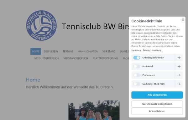 Vorschau von www.tcbirstein.de, Tennisclub Birstein