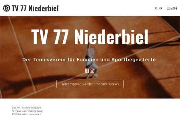 Vorschau von tv-niederbiel.de, TV 77 Niederbiel