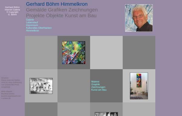 Vorschau von www.g-boehm.de, Böhm, Gerhard