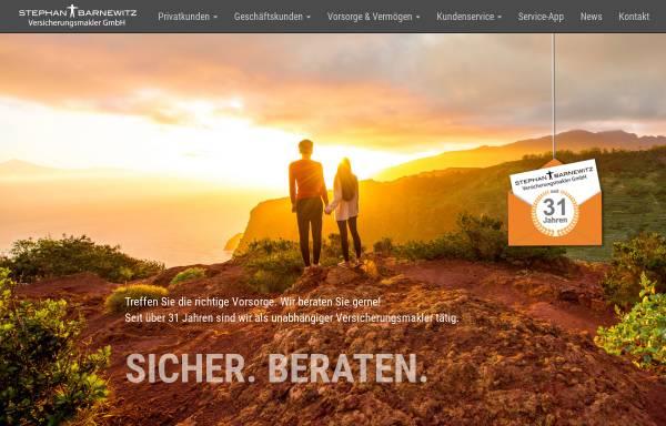 Vorschau von www.barnewitz-web.de, Stephan Barnewitz Versicherungsmakler GmbH