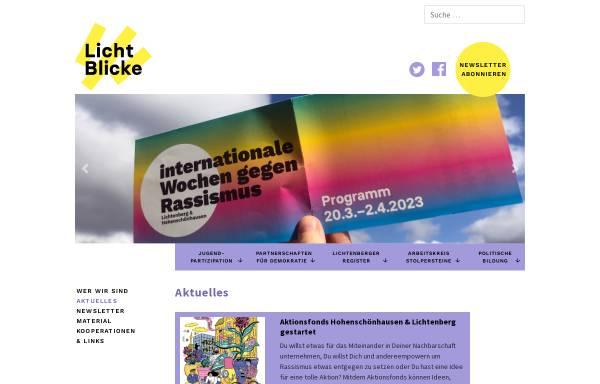 Vorschau von www.licht-blicke.org, Licht Blicke