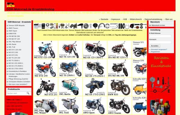 Vorschau von www.ddr-motorrad.de, DDR Motorrad