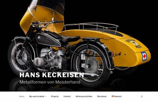 Vorschau von www.hanskeckeisen.de, Hans Keckeisen - Metallformen von Meisterhand
