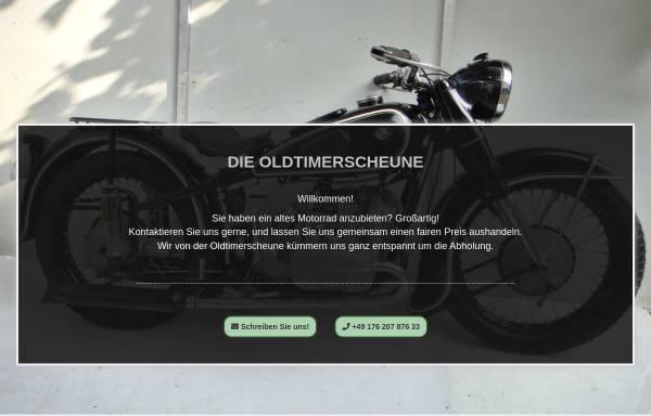 Vorschau von die-oldtimerscheune.de, Die Oldtimerscheune