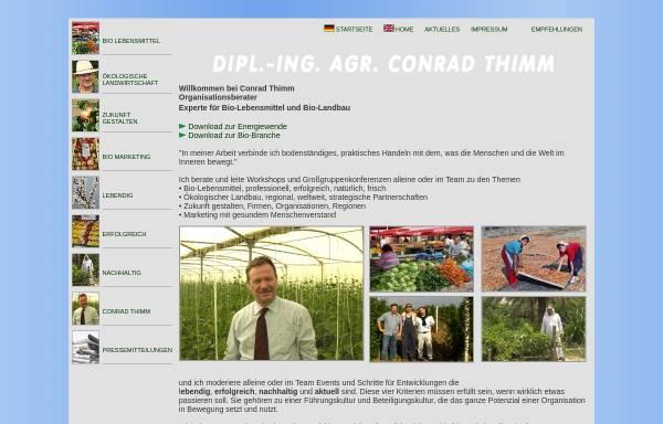 Vorschau von www.conradthimm.com, Büro Conrad Thimm