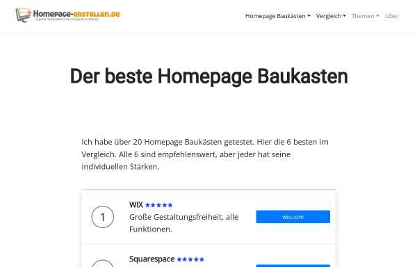 Vorschau von homepage-erstellen.de, Homepage-erstellen.de