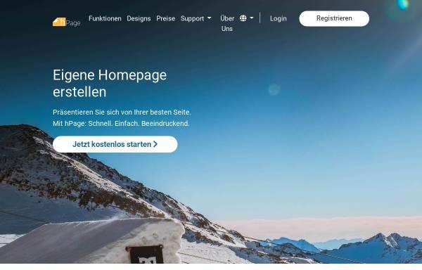 Vorschau von de.hpage.com, nPage.de