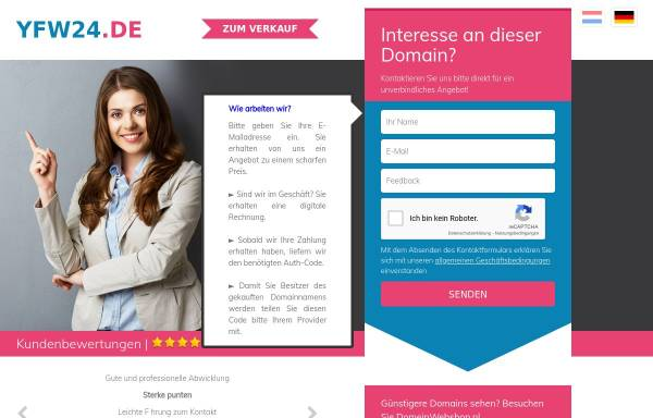 Vorschau von www.yfw24.de, Your free Website - Oliro KG