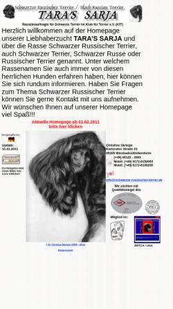 Vorschau der mobilen Webseite christine-skrinjar.de, Taras Sarja