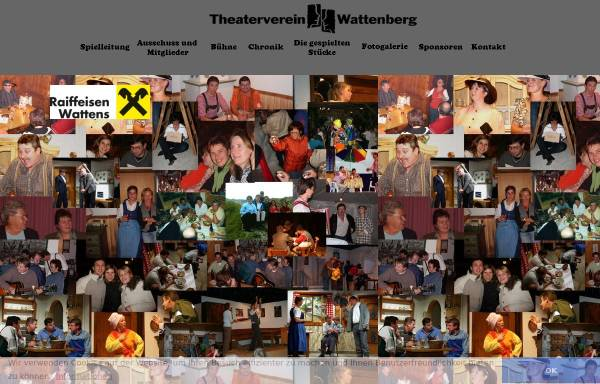 Vorschau von theaterverein-wattenberg.at, Wattenberg, Theaterverein