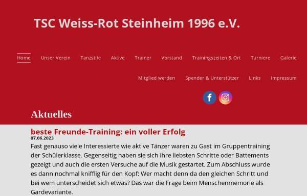 Vorschau von www.tsc-steinheim1996.de, Tanzsportclub Weiss-Rot Steinheim e.V.