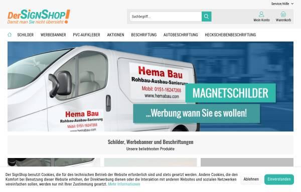 Vorschau von www.werbeservice.de, H&B Werbeservice GmbH