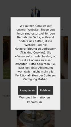 Vorschau der mobilen Webseite www.chemnitz-webcam.de, Chemnitz Webcam - Blick auf Chemnitz