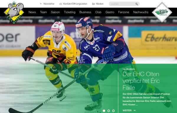 Vorschau von www.ehco.ch, EHC Olten