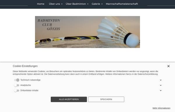 Vorschau von www.bc-goetzis.at, Badminton-Club Götzis