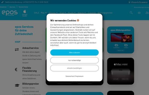 Vorschau von www.eposcomputer.at, Epos Computer GmbH
