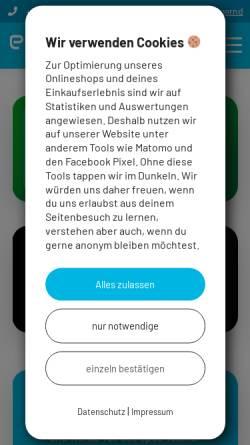 Vorschau der mobilen Webseite www.eposcomputer.at, Epos Computer GmbH
