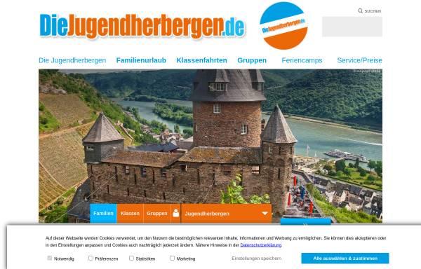 Vorschau von www.diejugendherbergen.de, Jugendherberge Bernkastel-Kues